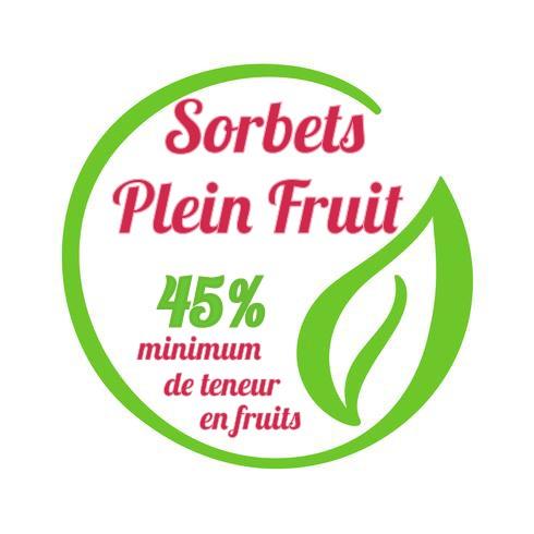 Sorbet Plein fruit